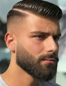 top 36 trending and most stylish faux hawk haircuts of 2019 beard haircut beard styles short