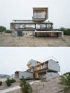 4 homes using concrete as a stylish 13 modern house exteriors made from concrete บ านในฝ น
