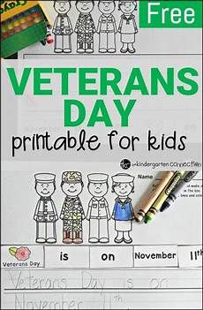 free kindergarten veterans day worksheets free veterans day activity the kindergarten connection