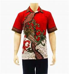 10 baju batik untuk kerja pria terbaru batik indonesia