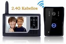 funk überwachungskamera mit monitor sprechanlage funk mit monitor klingel und kamera