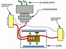 wiring a doorbell transformer diagram buzzing noise coming from transformer ringdoorbell