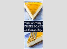 chocolate orange cheesecake with orange tangerine glaze_image
