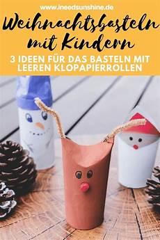 basteln mit klopapierrollen zu weihnachten 3