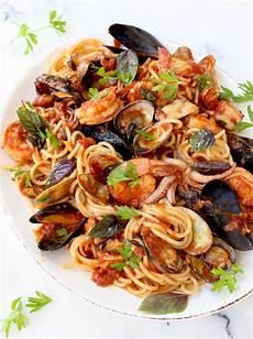 frutti di mare frutti di mare recipe seafood spaghetti ciaoflorentina