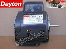 dayton 6k397a commercial capacitor start electric motor 1 2 hp 1725 rpm 115 230v tzsupplies com