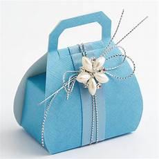 blue silk favour box uk wedding favours
