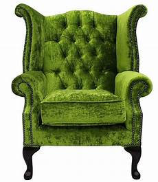chesterfield high back wing chair modena