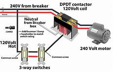 Four Pole Contactor Diagram by 3 Pole Contactor Wiring Diagram Electrical Website Kanri