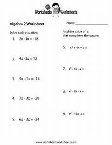 printable algebra worksheets high school 8432 algebra 2 review worksheet algebra worksheets algebra algebra 2