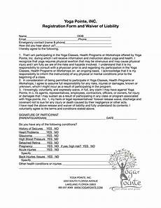 yoga teacher waiver form blog dandk