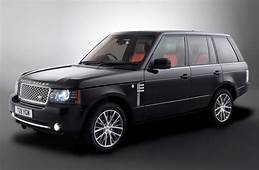 Cars GTO 2011 Range Rover Autobiography Black 40th