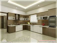 Interior Kitchen Design Kitchen And Dining Interiors Kerala Home Design And