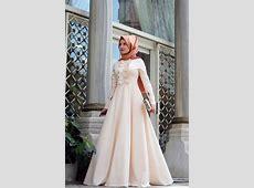 Mevra   Önü F?rf?rl? Elbise Pudra   Elbise, Müslüman