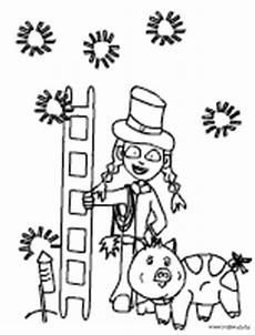 Silvester Malvorlagen Silvester Malvorlagen F 252 R Kinder Im Kidsweb De