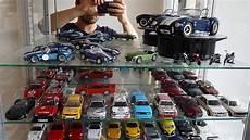 ma vitrine de voitures miniatures au 1 43