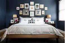 Bedroom Decor Ideas With Blue Walls by Navy Blue Bedroom Design Ideas Pictures Home