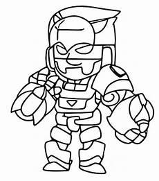 dibujos para colorear de brawl bo
