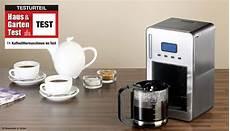 im test 11 kaffeemaschinen im vergleichstest haus
