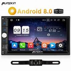 pumpkin 2 din android 8 0 universal car radio no dvd