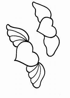 malvorlagen engel liebe herzen mit fluegeln ausmalbild malvorlage liebe