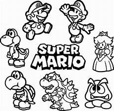Mario Malvorlagen Zum Drucken Mario Ausmalbilder Mit Bildern Ausmalbilder