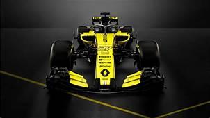 2018 Renault RS18 F1 Formula 1 Car 4K Wallpaper  HD