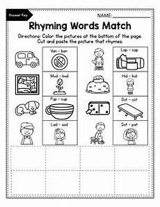 rhyming worksheets 18447 cvc rhyming worksheets for kindergarten rhyming words worksheets