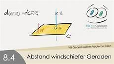8 4 abstand windschiefer geraden