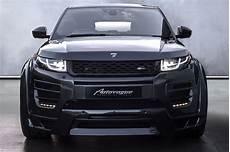 hamann range rover evoque 5 door widebody