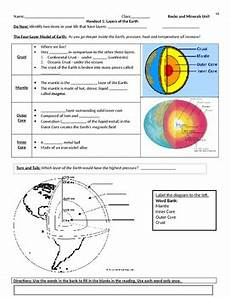 layers of the earth worksheet layers of the earth guided notes and worksheet by