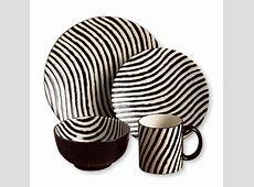 Joseph Abboud Zebra 16 piece Dinnerware Set   African home