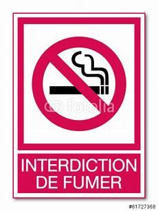 affiche défense de fumer quot panneau interdiction de fumer quot fichier vectoriel libre