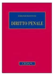 mantovani diritto penale diritto penale parte generale edizione 5 libro