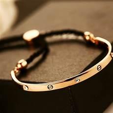 2017 New 18k Gold Bracelets For Fashion Jewelry