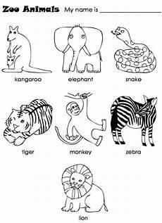 new 819 worksheets with zoo animals zoo worksheet