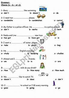 grammar worksheets elementary 18268 grammar elementary test esl worksheet by roma ama
