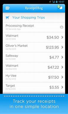 receipt hog receipts to cash android apps on google play