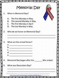 day worksheets printables 20472 memorial day reading comprehension worksheets reading comprehension worksheets memorial day