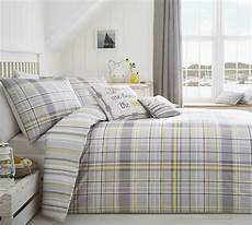 check striped grey yellow white king size duvet comforter cover ebay