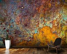 Wand Metallic Effekt - surface texture wallpaper brick log wallpaper