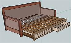 Futonbett Selber Bauen - pull out daybed plans home diy ideas
