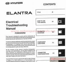 car owners manuals free downloads 1999 hyundai elantra on board diagnostic system hyundai elantra 2004 electrical troubleshooting manual auto repair manual forum heavy
