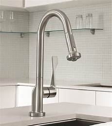 hansgrohe kitchen faucets commercial style kitchen faucet new axor citterio prep faucet by hansgrohe