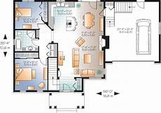 open concept bungalow house plans canada budget bungalow 21977dr 1st floor master suite cad
