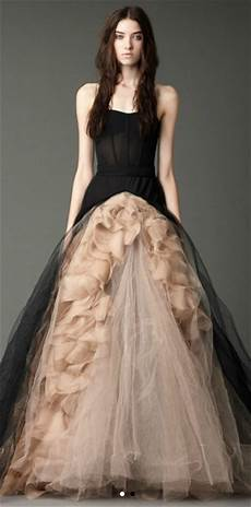 i heart wedding dress vera wang black for fall 2012