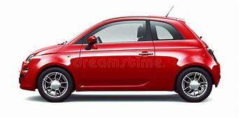 Red City Car  Side View Stock Illustration
