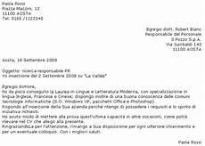 lettere di presentazione esempio l artigiano di babele lettera di presentazione qualche