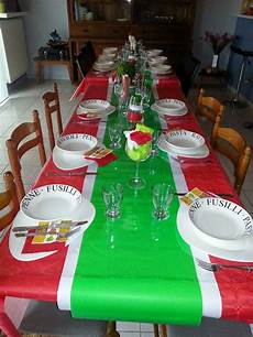 Decoration De Table A L Italienne