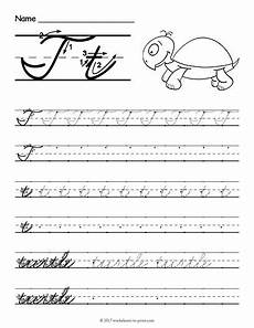 worksheets work cursive handwriting 22080 free printable cursive t worksheet cursive writing worksheets cursive t handwriting worksheets